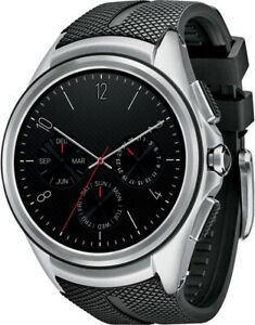LG Urbane 2nd W200A Smart Watch 4G LTE NFC Smartwatch Black Band Edition 2 Ed