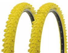2 piezas neumático de la bicicleta Kenda MTB GOMA 26x1, 95 (50-559) AMARILLO