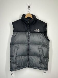 The North Face - Vintage Nuptse 700 Down Puffer Vest with Hood - Medium vtg