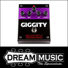 Voodoo Lab Giggity Overdrive Mastering Preamp Guitar FX Pedal RRP$369