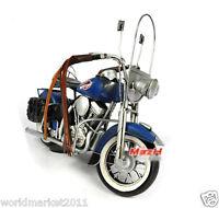 Retro L33*W13*H20CM Iron Harley Davidson Motorcycle Model /Bar Decoration
