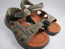 Mens Sandals Size 8 M Taupe Strappy Sandals Croft & Barrow Adjustable Straps