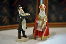 Vintage Duncan Royale History of Santa 1983 Wassail/ St. Nicholas metal figures
