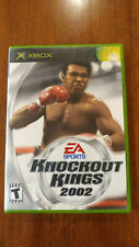Knockout Kings 2002 (Microsoft Xbox, 2002) MINT COMPLETE! MAIL TOMORROW!