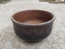 Original Old Primitive Handmade Terracotta Bowl Extra Rich Patina