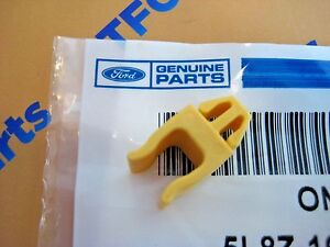 Ford Escape Mercury Mariner Yellow Hood Support Prop Rod Clip OEM New 2001-2012