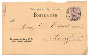 Cartolina P11F Berlino Stampa Wys Muller & Co.Privatzudruck 1876 Dr (B7