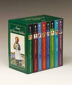 The Complete Anne of Green Gables Lucy Maud Montgomery Taschenbuch Schuber