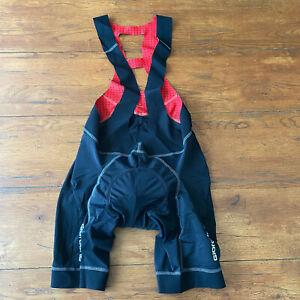 Giordana Mens Large Cycling Bibshorts Body Clone Compression Shorts Bib L