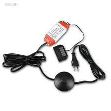 15W LED Netzteil 12V DC,15 Watt mit Fußtretschalter, Trafo, EVG, Transformator