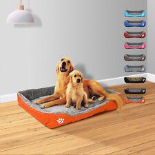 3.7x2.8FT XXXL Washable Pet Dog Cat Bed Cushion House Soft Warm Kennel Mat 113cm