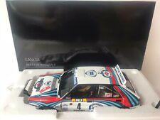 Kyosho Lancia Delta HF Integrale #4 Martini rally Monte Carlo 1992 1/18 8348A