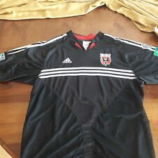 DC United authentic vintage 2005 jersey Adidas L size MLS