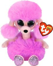Ty Beanies Camilla The Pink Poodle 15cm Soft Toy