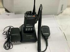 Motorola Mts 2000 Model Ii Flashpoint H01uch6pw1bn Portable 2 Way Radio