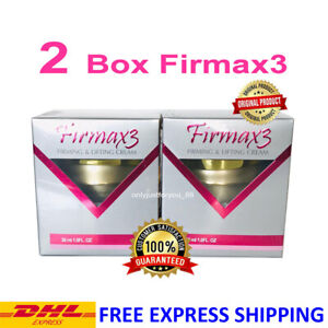2 BOXES FIRMAX3 CREAM HORMONES FIRMING LIFTING ANTI AGING FREE SHIPPING DHL