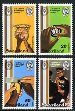 Swaziland 391-394, MNH. Duke of Edinburgh's Awards, 25th anniv. Basketball, 1981