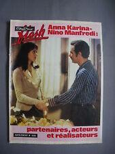 ► NOUS DEUX FLASH 1556 -1977 - ANNA KARINA - NINO MANFREDI - LILIANE MONTEVECCHI
