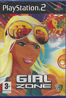 Ps2 PlayStation 2 **GIRL ZONE** nuovo sigillato versione import inglese