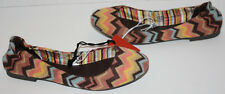 NWOB Girls Missoni For Target ZigZag Flats Shoes Size 3