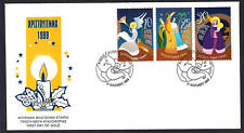 CYPRUS 1999 CHRISTIANITY CHRISTMAS ANGELS SET NICE UNOFFICIAL FDC