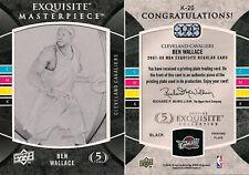 07-08 EXQUISITE - MASTERPIECE - BEN WALLACE - 1/1
