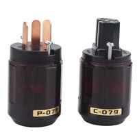 HIFI Pure Copper AU Australian NZ CN Power Plug AC Power Cord Cable Plug DIY