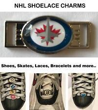 (HCW) Winnipeg Jets NHL Shoelace Charms for Skates, Shoes, Bracelets etc.