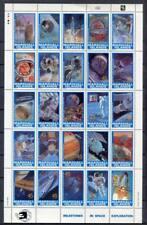 36445) MARSHALL ISLANDS 1989 MNH** Milestones in Space