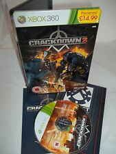 Xbox 360 Console Game - Crackdown 2 - Steelbook