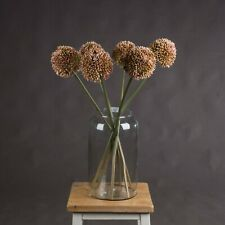 New Beautiful Faux Pink Allium False Flower Stem Artificial flower
