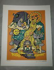 "Killer Acid ""Rise & Shine  "" signed  blotter art print limited edition art"