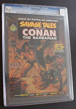 SAVAGE TALES #2 CONAN Barry Smith Marvel 1973 KULL Wrightson Brunner CGC NM+ 9.6