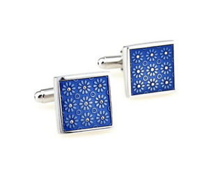 Enamelled Painting Cufflink