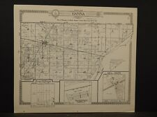Indiana, La Porte County Map, 1921, Township of Hanna & Prairie, Z6#28