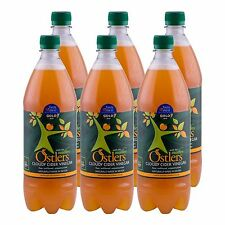 """Ostlers Raw Kosher Cloudy Cider Vinegar with """"The Mother"""" 6 x 1 ltr"""