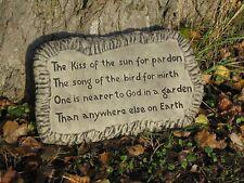 KISS OF THE SUN PIASTRA A Parete Pietra Decorazione Giardino