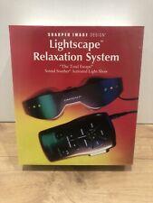 Vintage Lightscape Relaxation System By Sharper Image Design, Brand New Sealed.