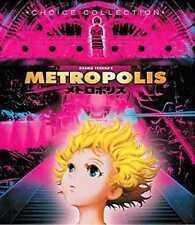 Metropolis Blu-Ray (2001) - Osamu Tezuka, Rintaro, Kei Kobayashi, Yuka Imoto