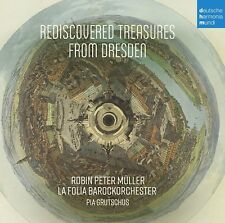 ANONYMUS-REDISCOVERED TREASURES FROM DRESDEN- BAROCKORCHESTER CD NEW+