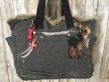 3b52c4e2d4 Fuzzy Nation ~ RARE~ Yorkie Sweatshirt Faux Fur Lined Bag  Tote Bag NWT