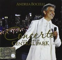 Andrea Bocelli: Konzert One Night IN Central Park - CD