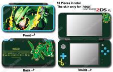 Pokemon Emerald Rayquaza Delta Classic Edition Skin Sticker Cover for NEW 2DS XL