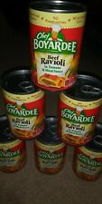 (6) Cans of Chef Boyardee Beef Ravioli in Tomato & Meat Sauce * Best by 08/2021