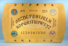 1940s Hasko Mystic Tray Ouija Board Fortune Telling Large 15x25 Halloween Witch
