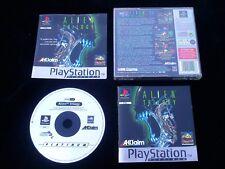 ALIEN TRILOGY : JEU Sony PLAYSTATION PS1 PS2 (Acclaim COMPLET envoi suivi)
