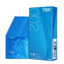 MingLiu Ultra Thin Condom 10 Count 0.035mm Thin Barely Sensitive I6L4 Smoot H0C5