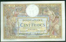 FRANCE 100 FRANCS LUC OLIVIER MERSON du 30/3/1915  ETAT: SUP  W 2748