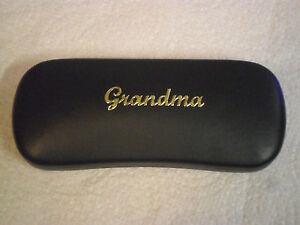 GRANDMA 2 new metal glasses #1 case ideal for birthdays Christmas great gift!!
