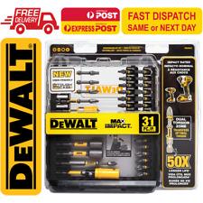 DeWalt MAX Impact Driver Screwdriving Bit Set DWAMI31 (31 Pieces)